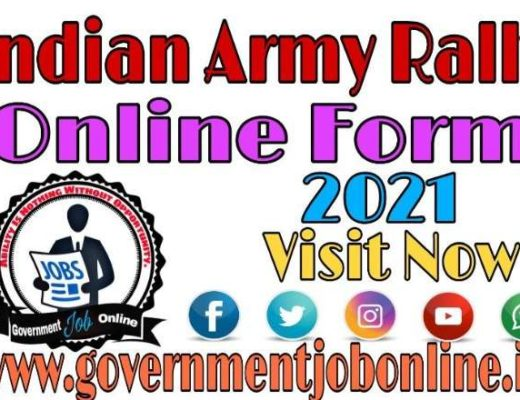 Indian Army Rally Odisha Online Form 2021, Indian Army Rally Online Form 2021, Army Rally MP Online Form 2021, Army Rally MP And Chhattisgarh Online Form 2021