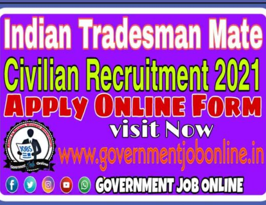 Indian Navy Tradesman Online Form 2021