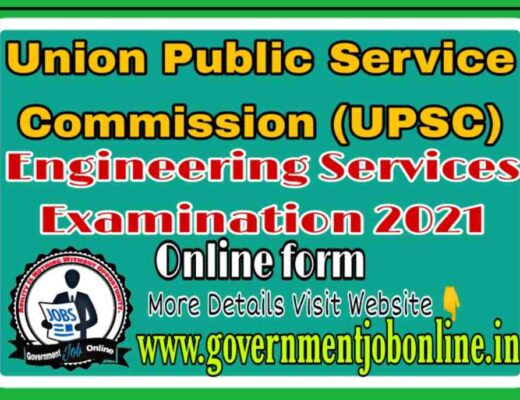 UPSC ESE Online Form 2021 Apply Now Fast